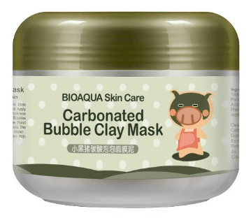 Carbonated bubble clay mask efinny