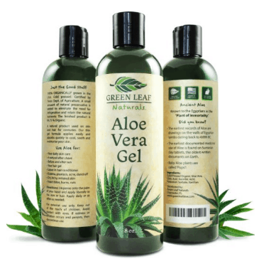 Aloe Vera Juice for Hair Green Leaf Naturals