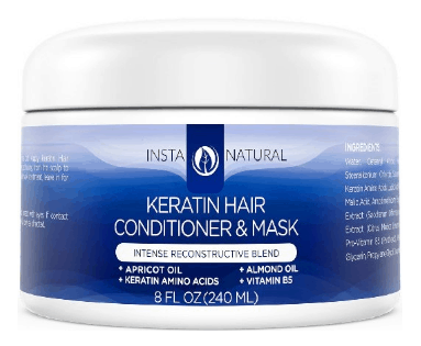 Keratin Treatment at Home InstaNatural Keratin Complex Hair Mask
