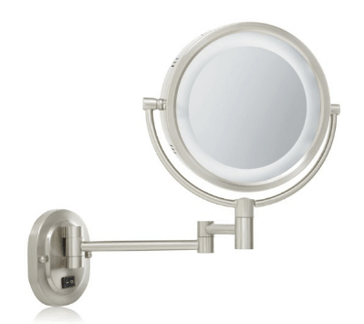 best lighted makeup mirror jerdon