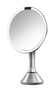 best lighted makeup mirror simplehuman