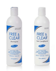 Hypoallergenic Shampoo Pharmaceutical Specialties Free & Clear Set