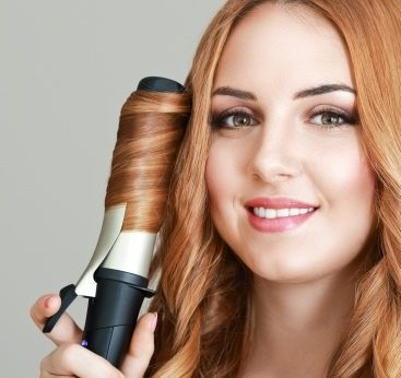 Automatic hair curler  e