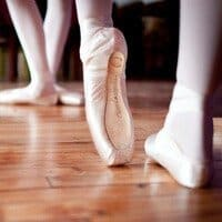 Ballet pointe shoes for beginners