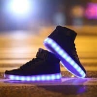 Multi LED High Tops