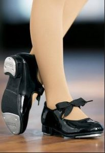 mary jane style tap shoes