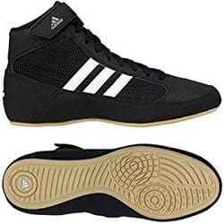 Black and white adidas HVC2 Speed