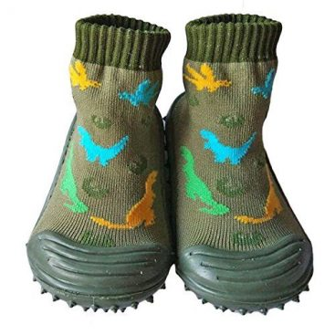 Baby-Socks-with-Rubber-Soles-Children-Non-slip-Breathable-Toddler-Shoes-Socks-Cotton-Baby-Sock-Shoes-about-14-cm-Army-Green