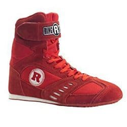 Red Ringside Power Mid Cut Boxing Shoes