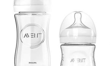 philips avent glass bottle, set of two