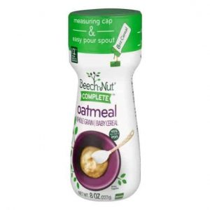 beech nut complete baby cereal, rice, stage 1 (from about 4 months) - 8 oz