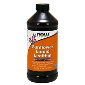 lecithin liquid in a large bottle