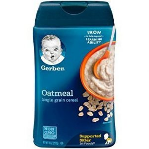 baby food cereal gerber