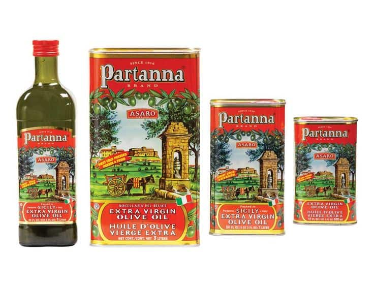 partanna extra virgin olive oil, 34 ounce