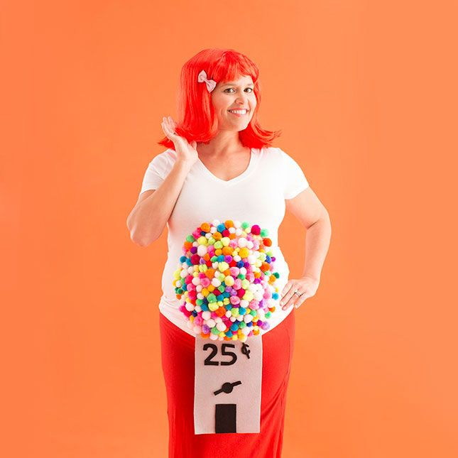 Halloween costumes for pregnant ladies