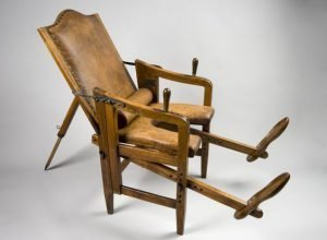 18th Century birthing chairs