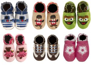 Baby walking shoes by oshires