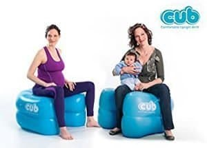 comfortable upright birth chair