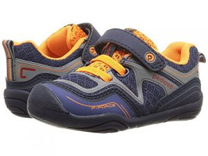 Pediped gg2338 force - navy and orange, baby shoes