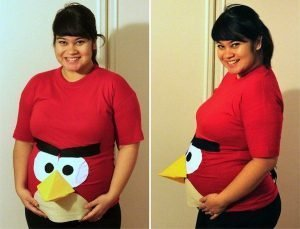 angry bird pregnant woman halloween costumes