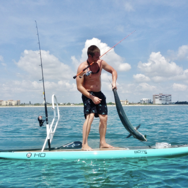 fishing paddle board