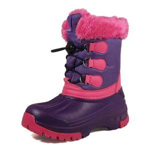 pink snow boots for children and babies