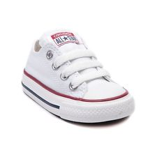 white baby converse shoe